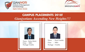 Gian Jyoti Job Placements campus slide 2