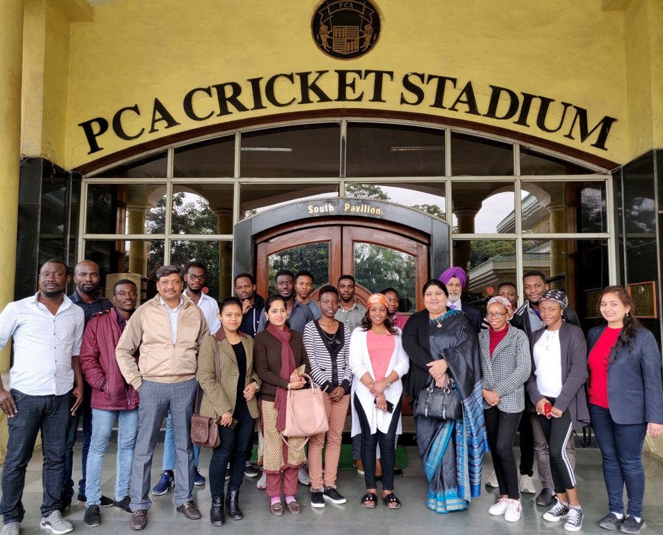 Trip to PCA Cricket Stadium (3)