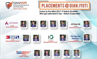 Gian Jyoti campus placment 2019-3-1