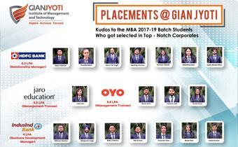 Gian Jyoti campus placment 2019-3-2