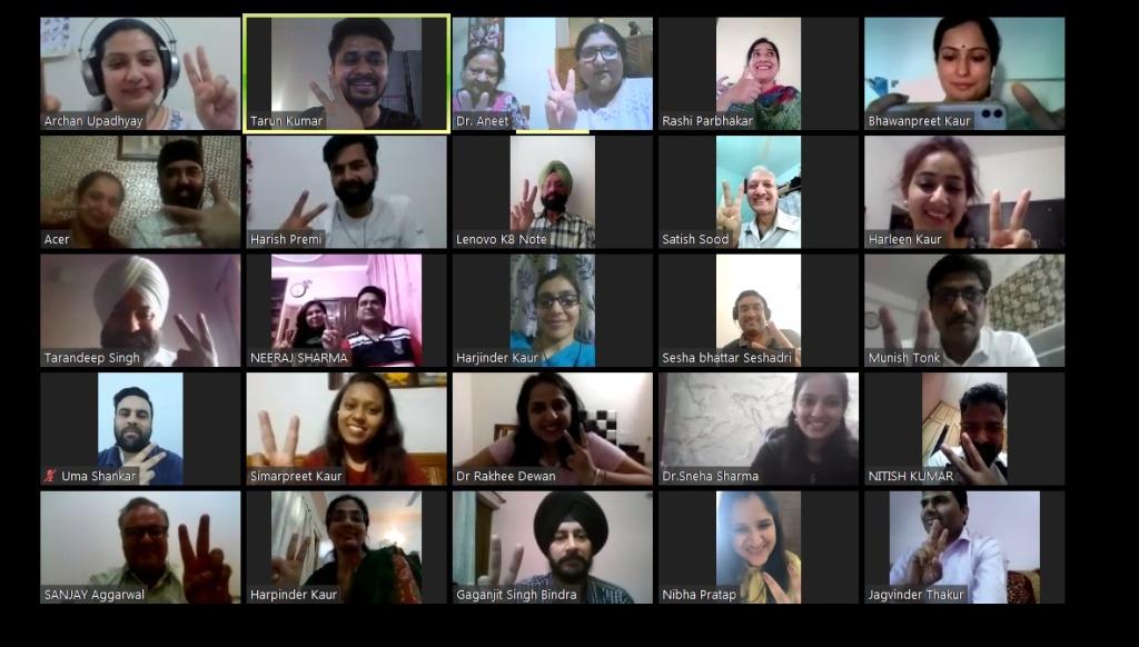 Faculty Online Meeting